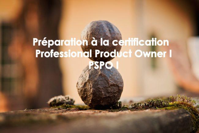 Préparation à la certification Professional Product Owner PSPO 1 scrum org