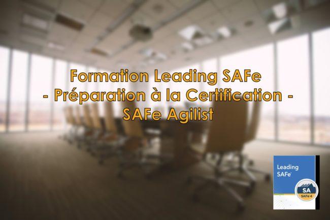 Formation Leading SAFe - Préparation à la Certification SAFe Agilist