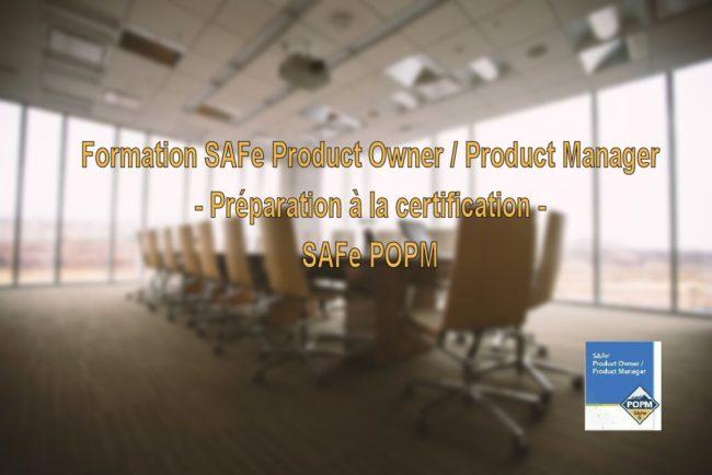 Formation SAFe Product Owner/Product Manager - Préparation à la certification POPM  5.0