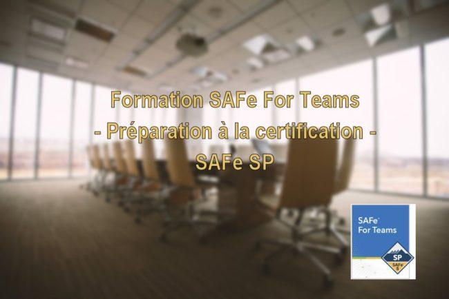 Formation SAFe For Teams - Certification SAFe Practitioner (SP) 5.0